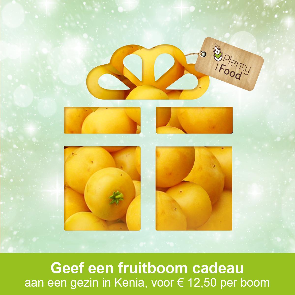 Geef een fruitboom cadeau plenty food nederland for Geef een goed doel cadeau